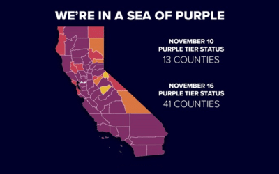 We're in a Sea of Purple